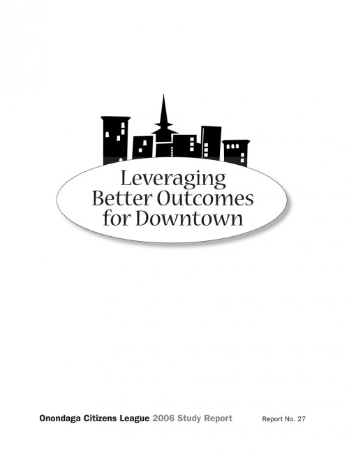 Fixing the Hub: Leveraging Better Outcomes for Downtown