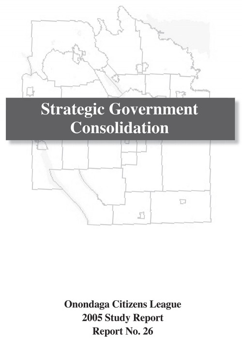 Strategic Government Consolidation