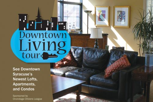 2007 Downtown Living Tour Poster